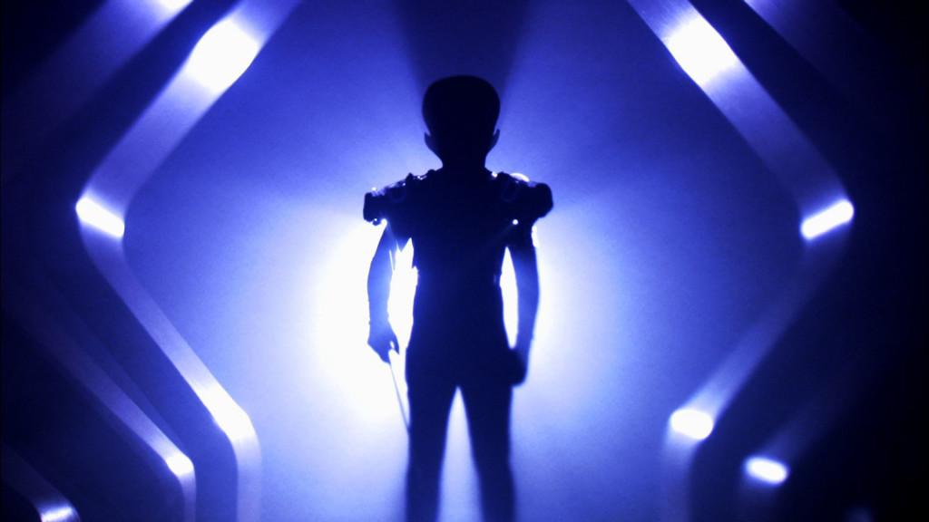 REENACTMENT: An alien aboard spacecraft. (Photo Credit: NGT)