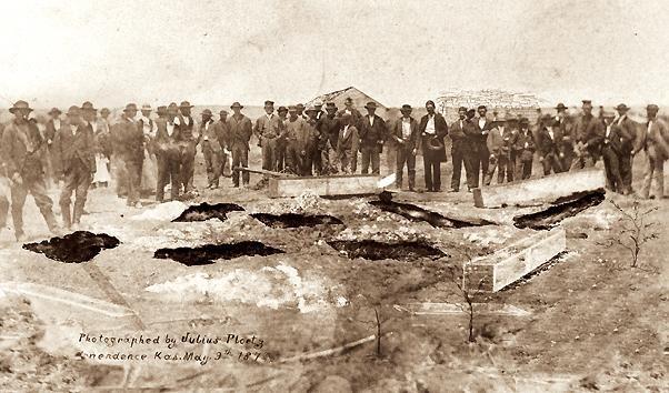 Dez corpos foram encontrados na escavação feita no quintal da antiga residência da Família Bender.