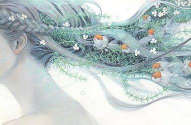 A delicadeza da arte japonesa em telas visuais incrivelmente foda