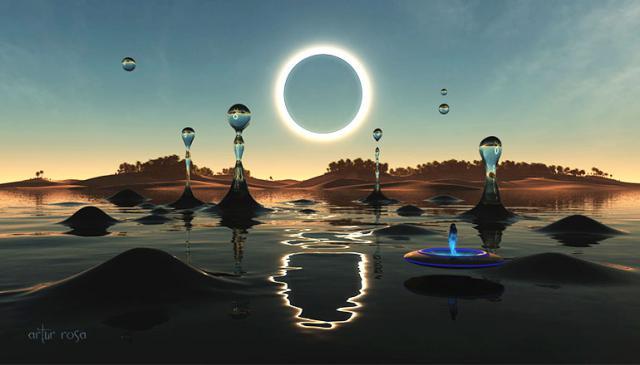 A Ilha de Barsa-Kelmes: Autoridades acreditam que há um misterioso portal para outra dimensão no local