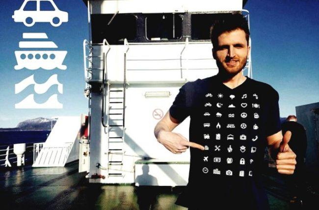 Iconspeak: a camiseta que te ajuda a conhecer o mundo sem saber 1 palavra