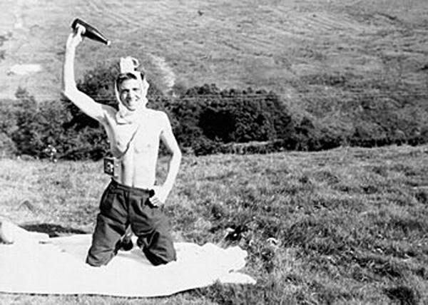 Ian Brady na pré-adolescência.