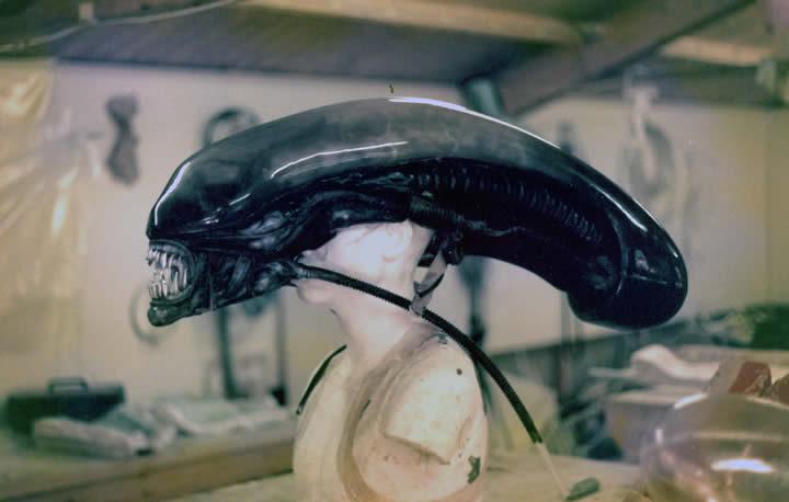 Fantasia do Alien - cabeça