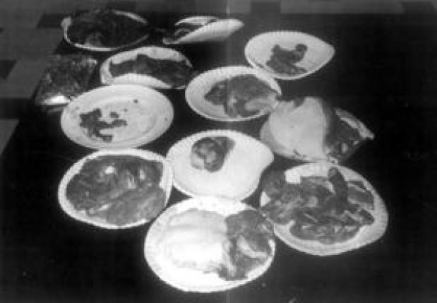 Restos mortais cortados por Issei Sagawa
