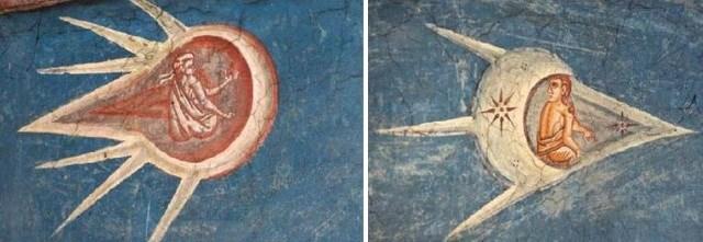 Naves alienígenas em pinturas antigas - 1 – A Crucificação de Cristo - Versão 1