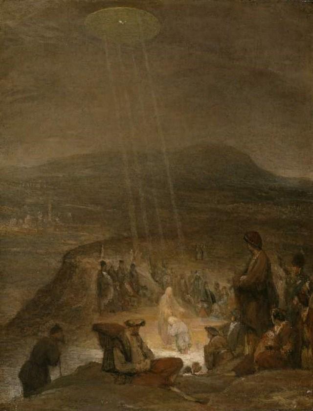 Naves alienígenas em pinturas antigas6