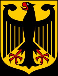 Brasão da águia alemã - Carl Edon