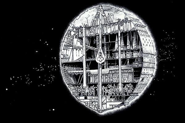 Script planeta de madeira - Alien