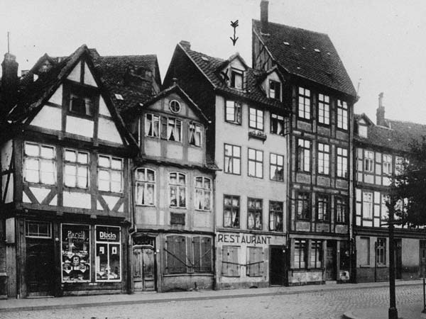Casa onde Fritz morou