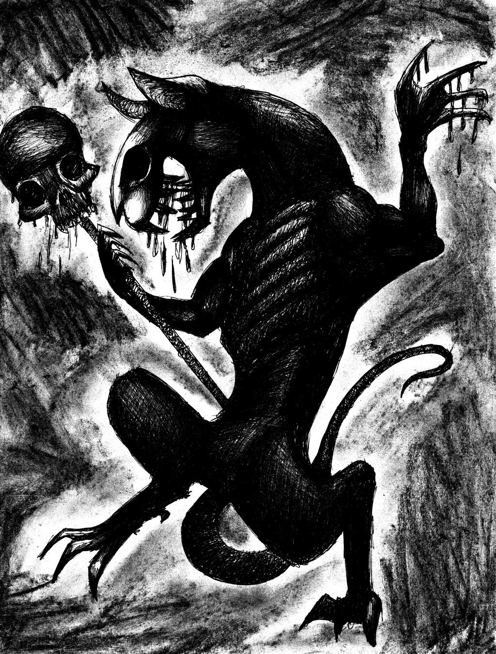 Ilustração - Os fantasmas da Casa Branca