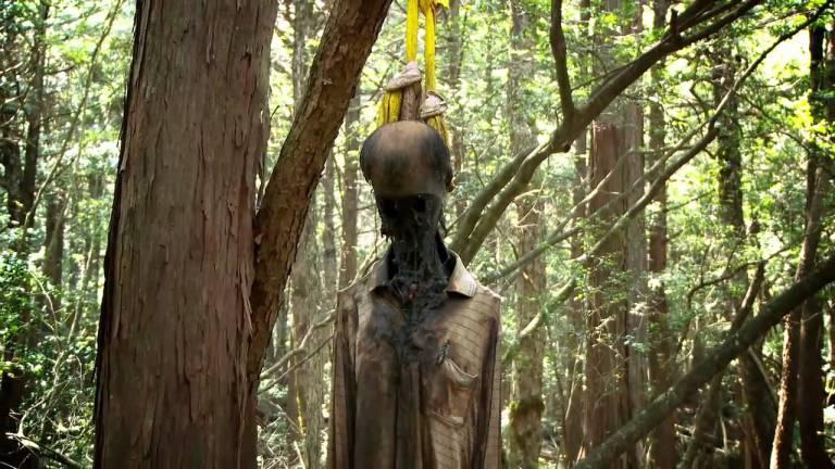 Corpo encontrado em Aokigahara