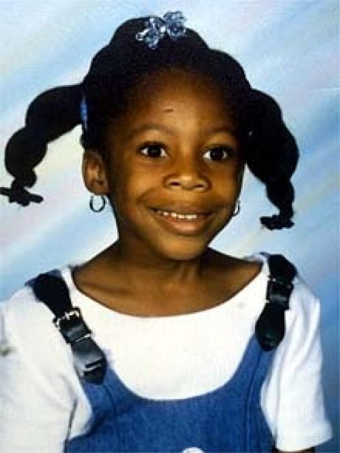 Tiffany Eunick, 9 anos - assassinada por Lionel Tate