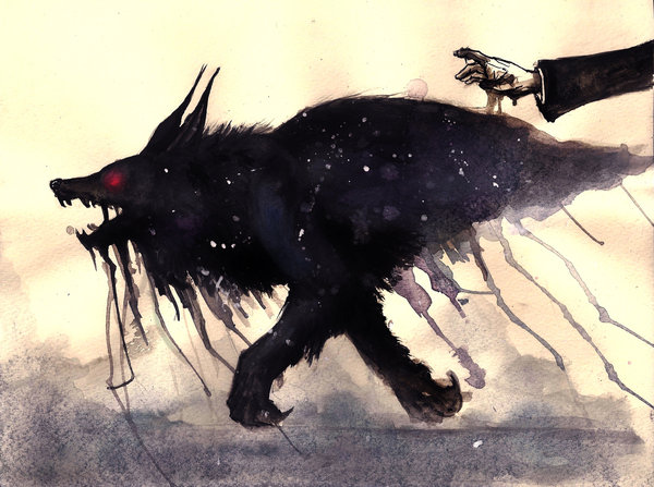 Barghest, o cão do inferno