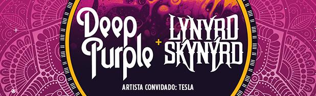 Deep Purple e Lynyrd Skynyrd no Brasil 2017