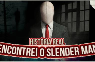 ENCONTREI O SLENDER MAN NO MEU QUARTO! (HISTÓRIA REAL)